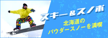 北海道 北海道旅行 札幌 トマム スキー スノボ 雪 アクティブティ